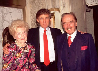 Foto Donald Trump dengan Orang tuanya