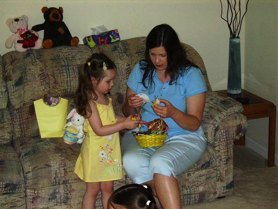 Exploring the goodies found in daughters Easter basket #EasterTraditions #CatholicCentral #ad