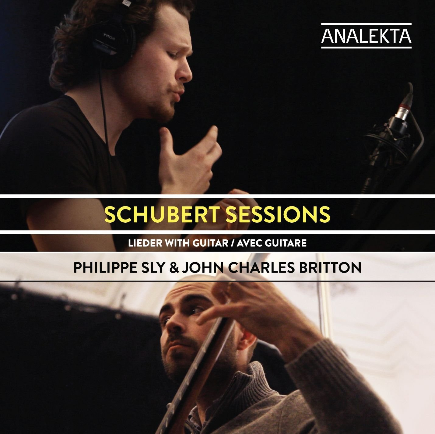 BEST LIEDER RECORDING OF 2016: Franz Schubert - SCHUBERT SESSIONS, Lieder with Guitar (Analekta AN 2 9999)