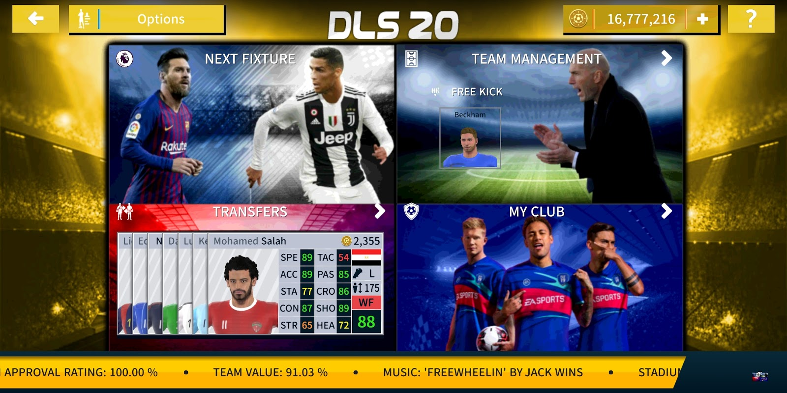 Best Soccer Players 2020.Dream League Soccer 2020 Best Graphic Android Heavy