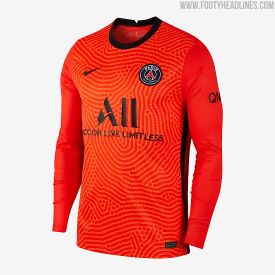 Psg 20 21 Goalkeeper Kit Released Footy Headlines