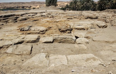 Temple remains found at ancient Egyptian quarry