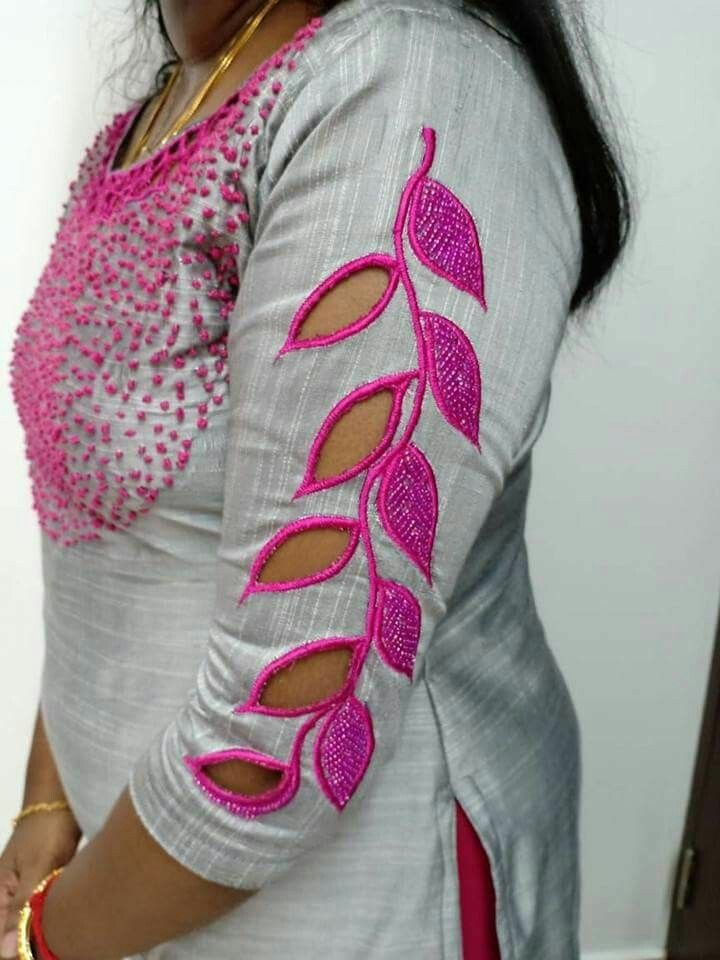 50+ Trendy Saree Blouse Sleeve Styles to try this wedding season ... fc265a8dfcb