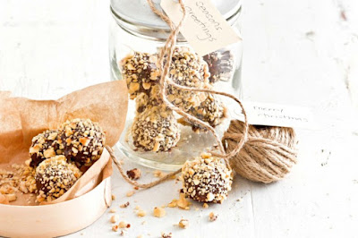 Hazelnut cream truffles Recipe