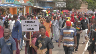 Ghanaians says no us military base in ghana