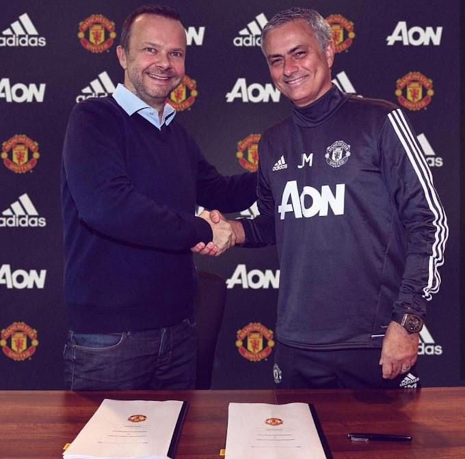 Jose Mourinho extends Man United Contract till 2020