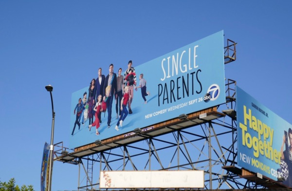 Single Parents season 1 billboard