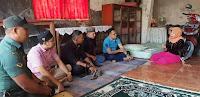 Dandim dan Pj Walikota Bima Serahkan Tali Asih untuk Keluarga Alm Yaser