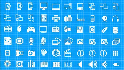 Download Vector Mega Icon Pack, download gratis, desain, photoshop