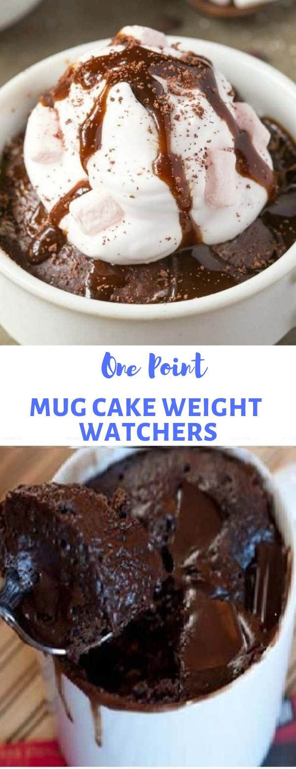 ONE POINT MUG CAKE WEIGHT WATCHERS