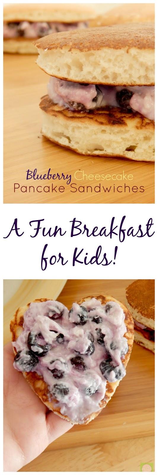 blueberry cheesecake pancake sandwiches (sweetandsavoryfood.com)