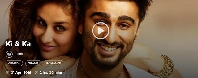 Ki & Ka 2016 Full Hindi Movie in HD 720p avi mp4 3gp hq free