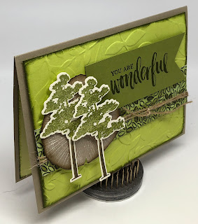 Linda Vich Creates: Rooted in Nature for Mother's Day. Rooted in Nature stamps form the focal point of this fresh and spring-like card, with the Layered Leaves embossing folder helping out in the background..