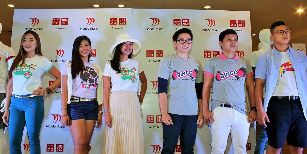 Monde Nissin x Uniqlo, Uniqlo Philippines, Uniqlo limited-edtion tees
