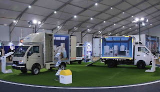 Tata Motors hosts its first ever end-to-end, experiential expo for the E-commerce Industry in India