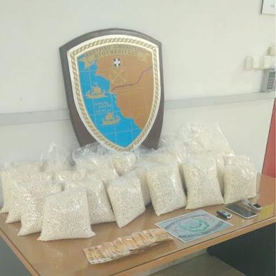 Μία BMW με εκατοντάδες χιλιάδες ναρκωτικά χάπια των τζιχαντιστών, αξίας 7 εκατ. ευρώ, πιάστηκε στην Ηγουμενίτσα