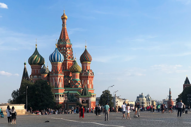 Красная площадь, храм Василия Блаженного | Red Square, St. Basil's Cathedral