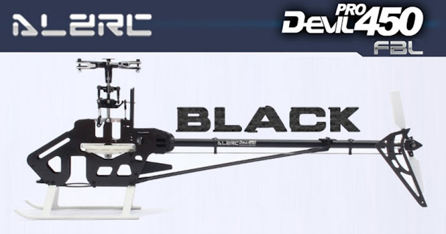 ALZRC Devil 450 Pro FBL Kit Empty Helicopter 1