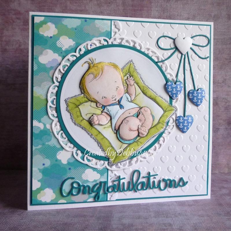 Именные открытки новорожденному