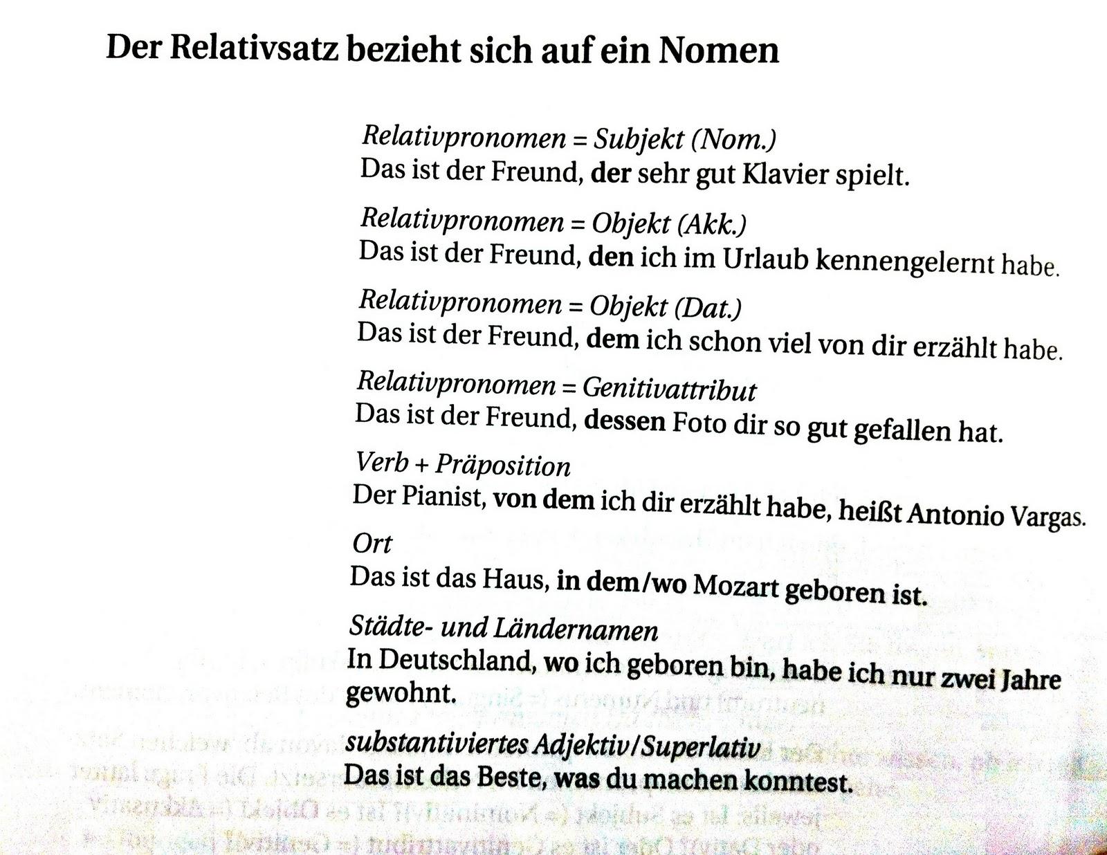 relativpronomen deutsch grammatik