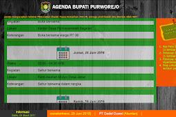 Download Software Display Informasi Jadwal Kegiatan