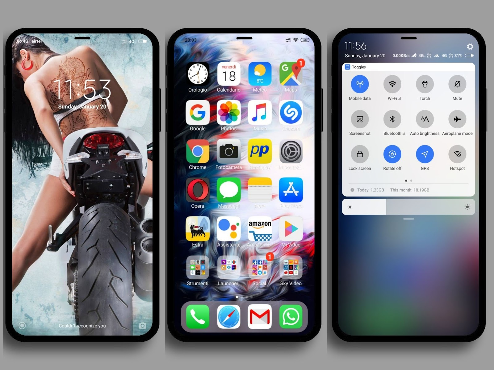iPhone iOS 12 XS Max HD MIUI Theme Download For Xiaomi