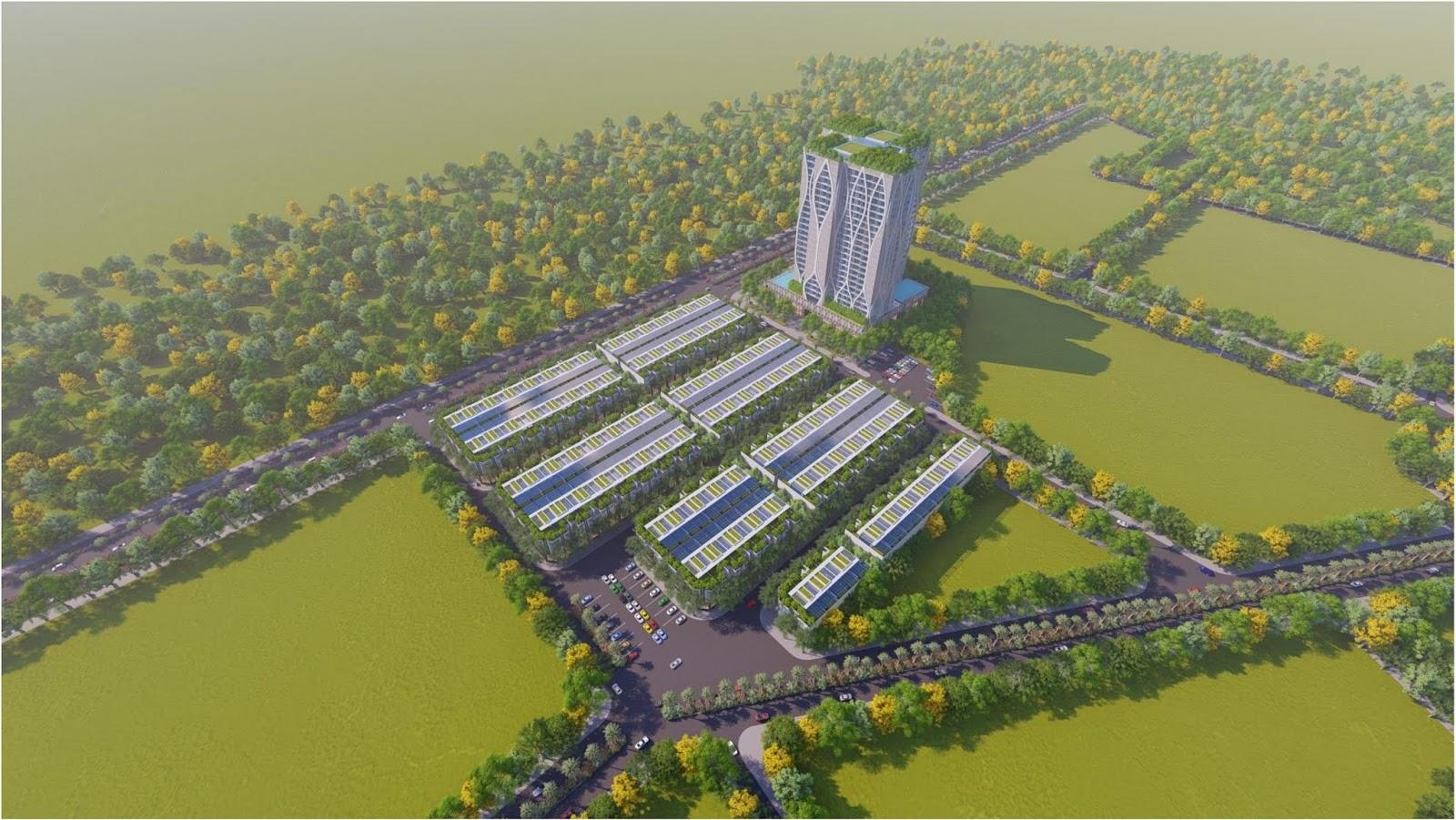 Phối cảnh dự án Condotel Apec Lạng Sơn