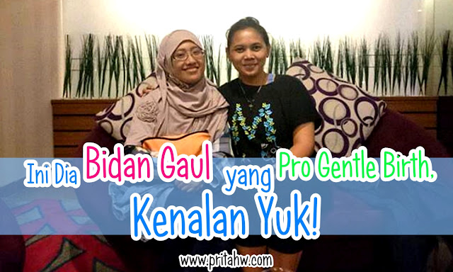 Bidan Yuli gentle birth