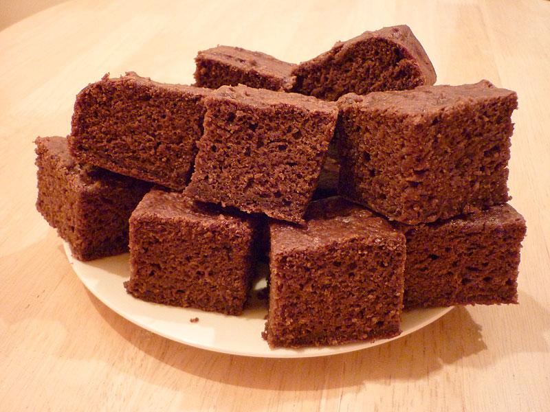 Sainsburys Chocolate And Cinnamon Tray Bake Cake