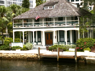 Historic Stranahan House in Downtown Fort Lauderdale, Florida
