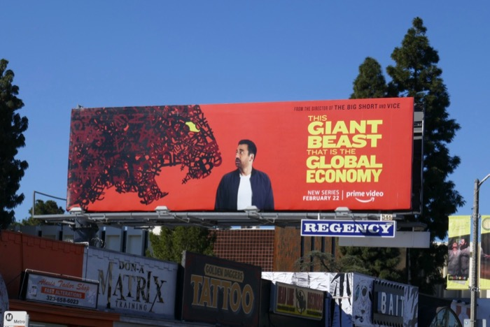 Giant Beast Global Economy series billboard