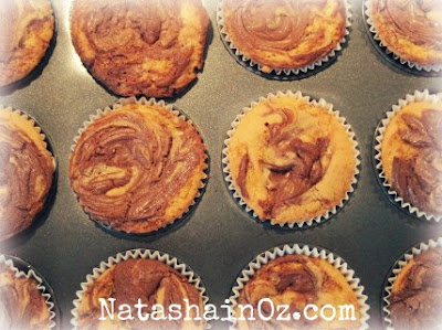 Nutella Muffins Recipe, Natasha in Oz