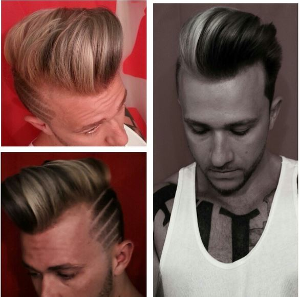 men hair styling techniques photo
