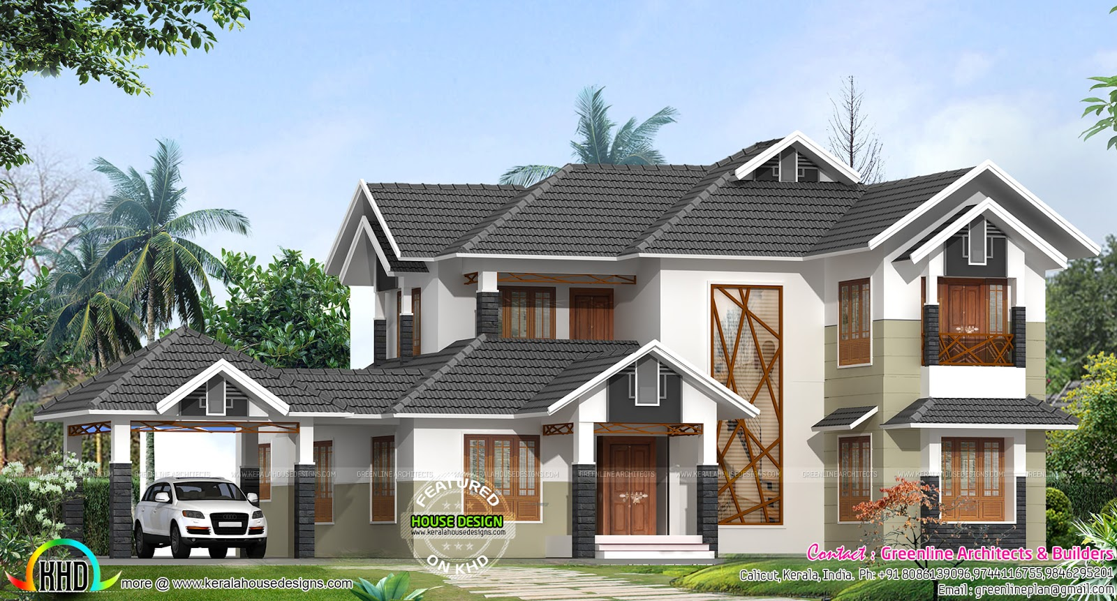 January 2016 kerala home design and floor plans for Modern house website