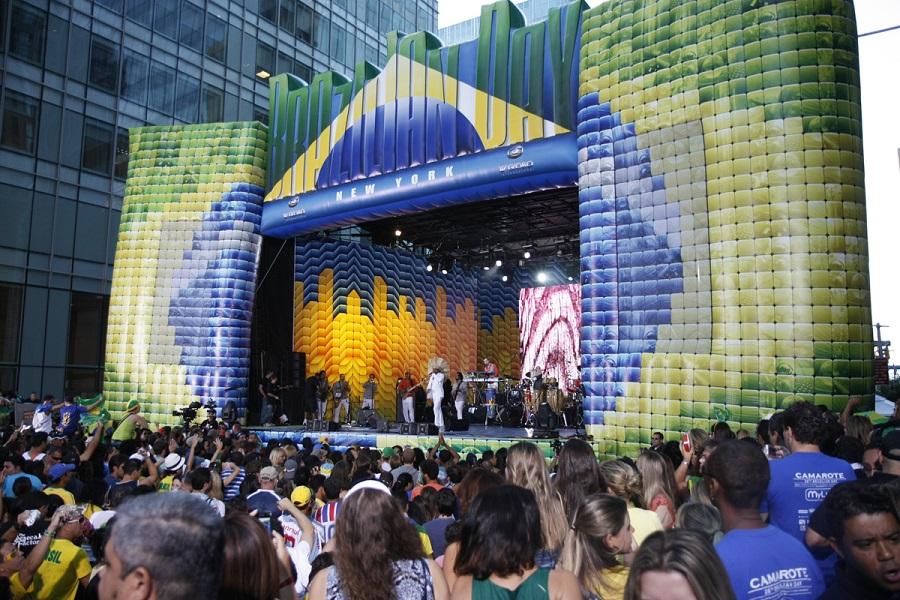 new Brazilian york city day festival