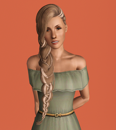 Empire Sims 3 Skysims 47 Streaked And Braided By Julia