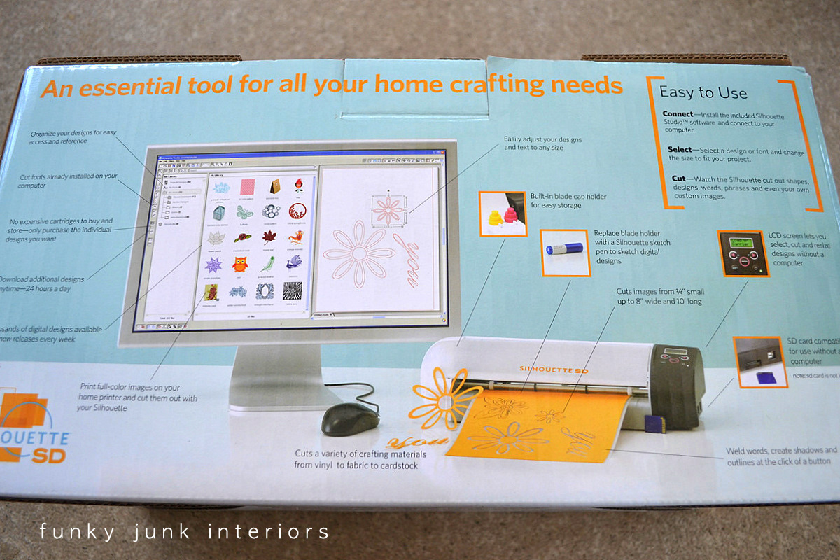 Silhouette review and GIVEAWAY! - Funky Junk InteriorsFunky Junk ...