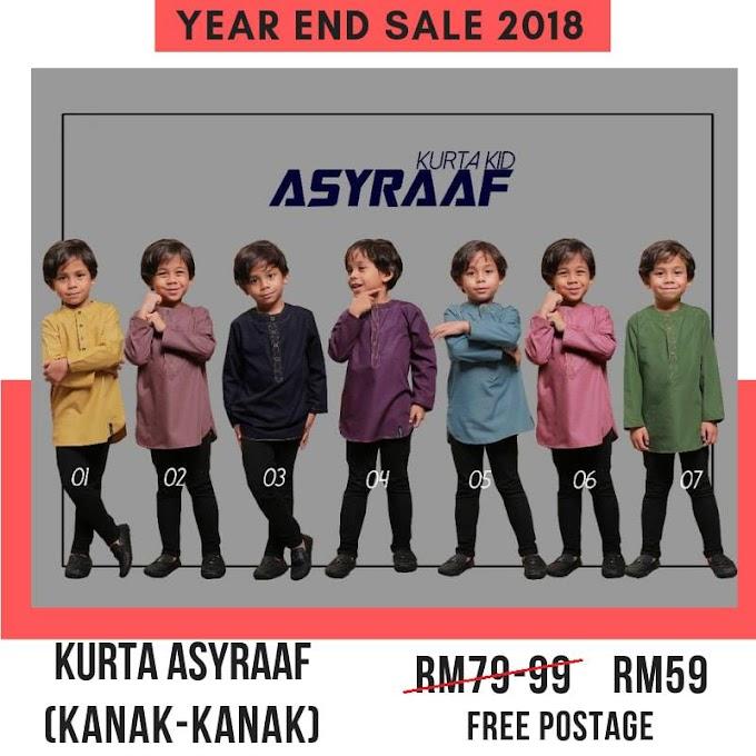 Year End Sale 2018 ~ Kurta Asyraaf kanak-kanak