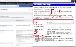 cara menggunakan Social Book Post Manager