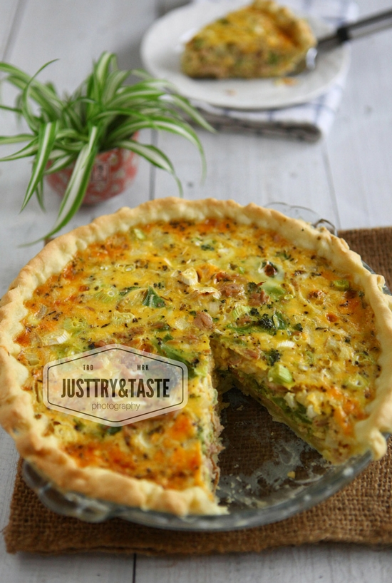 Resep Quiche Tuna dan Brokoli