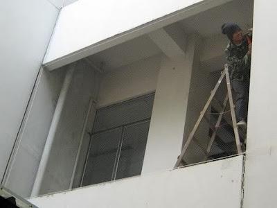 กันนก ตาข่ายกันนก ref-ตึกคณะวิทยาศาสตร์ มหาวิทยาลัยมหิดล3
