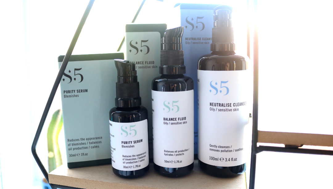 S5 Neutralise Cleanser, Purity Serum + Balance Fluid