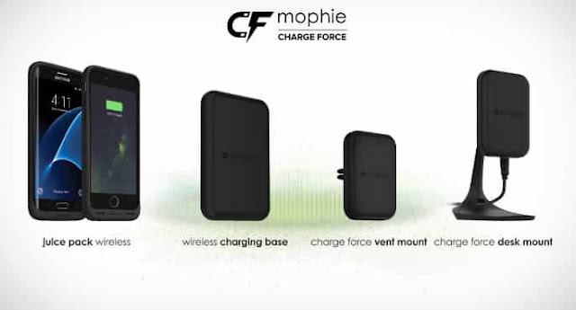 mophie – Charge Force Wireless Power iphone