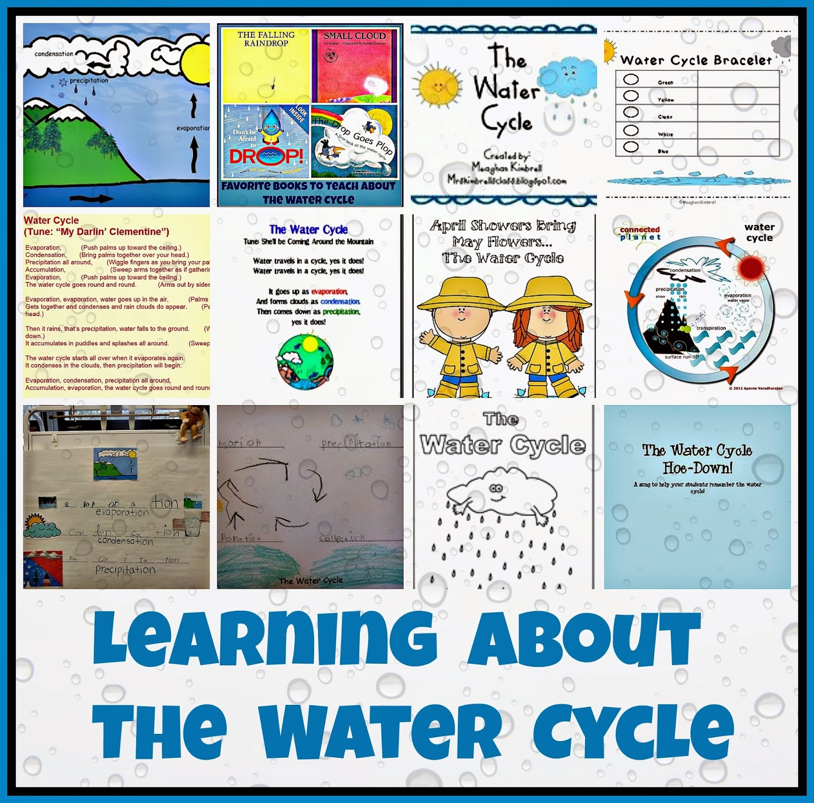Kindergarten Holding Hands And Sticking Together The Water Cycle