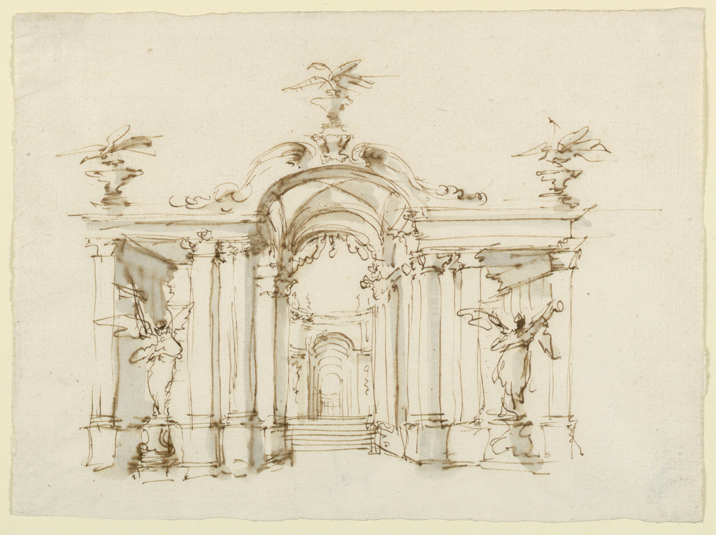 Spencer alley 18th century design drawings for Garden design 18th century