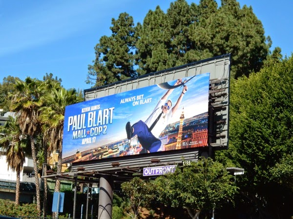 Paul Blart Mall Cop 2 billboard