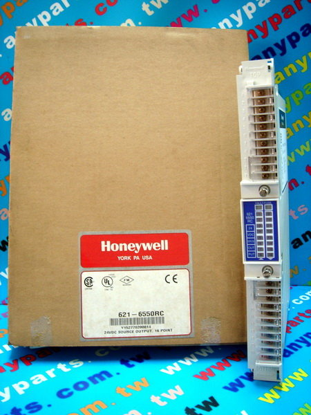 HONEYWELL S9000 IPC 621-Output MODEL 621-6550RC 24V SOURCE OUTPUT MODULE