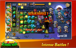 Download Flower Zombie War Apk
