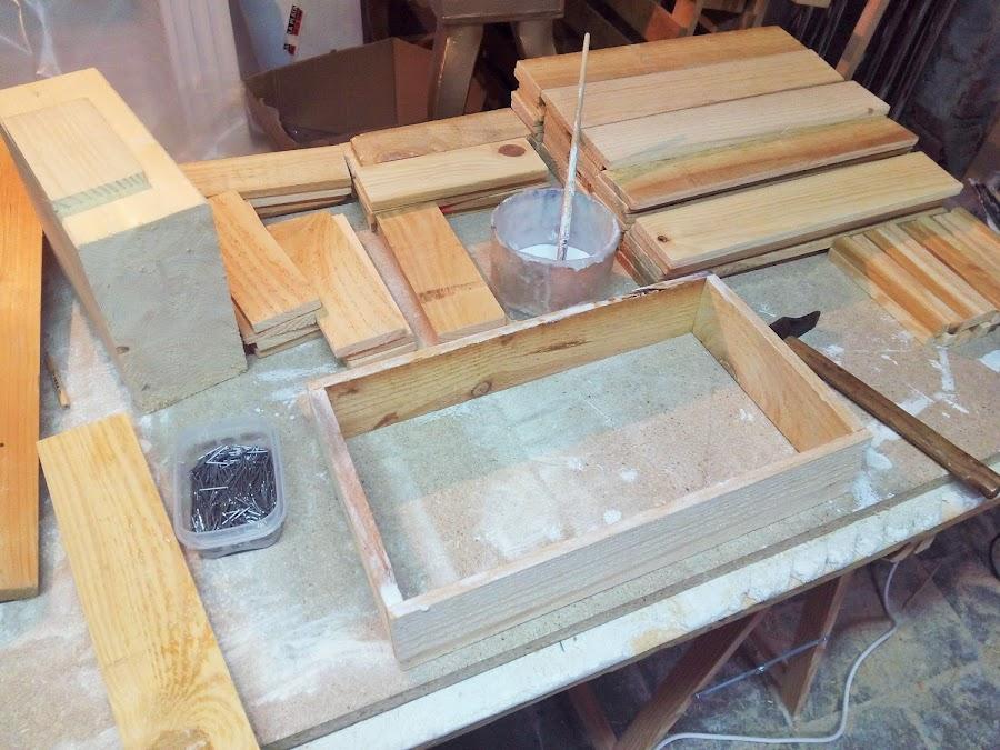 cajas de madera paso a paso
