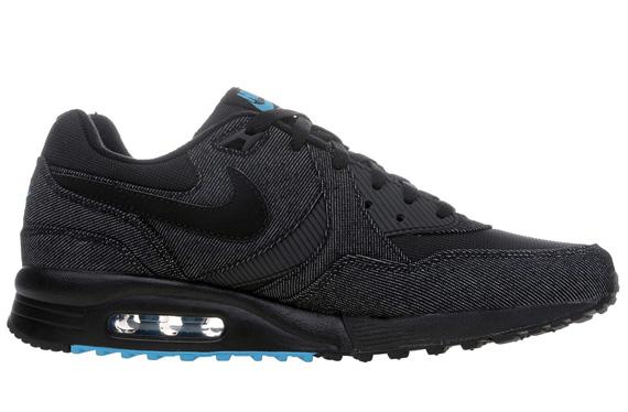 Oh Snaps! That's tight: Nike Air Max Light Black Denim
